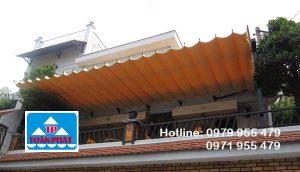 thi công và lắp đặt mái xếp lượn sóng